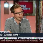 Le rendez-vous du jour: Olivier Cohen De Timary, dans Paris est à vous –