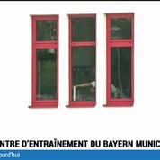 Football / Ribéry au centre d'entraînement du Bayern Munich au lendemain de l'annonce de sa retraite internationale