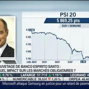 Sauvetage de Banco Espirito Santo: quel impact sur les marchés obligataires ?: Frédéric Rollin, dans Intégrale Bourse –