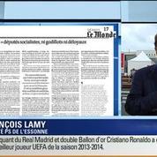 François Lamy: L'invité de Ruth Elkrief