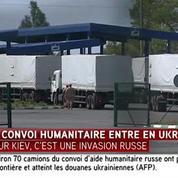 Convoi russe : les premiers camions sont arrivés à Louhansk