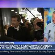 Nicolas Doze: Arnaud Montebourg a-t-il raison dans sa critique de la politique économique du gouvernement?