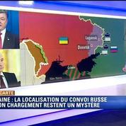Ukraine : \Personne ne peut dire où se trouve le convoi humanitaire\, selon Harold Hyman