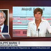 Philippe Marini, sénateur UMP de l'Oise, dans Le Grand Journal 1/7