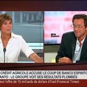 Caroline Michel et Franck Dedieu, dans Le Grand Journal 6/7