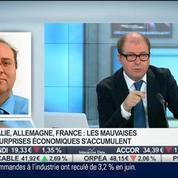 Mauvais chiffres en Italie et en Allemagne: y a t-il un risque sur l'économie européenne?: Christian Parisot, dans Intégrale Bourse –