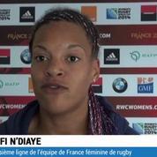 Rugby / Mondial féminin : les Bleues ravies de l'ambiance
