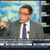 Robert Rochefort, eurodéputé centriste du Sud-Ouest, et Bernard Sananès, CSA, dans l'invité de BFM Business –