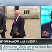 RMC Politique : Discours de Valls au Medef: un copier-coller des discours de Tony Blair