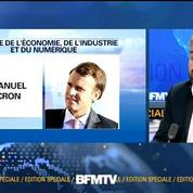La nomination d'Emmanuel Macron ne parle pas à la gauche, estime Alexis Corbière
