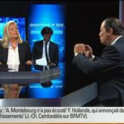 BFM Politique: L'interview BFM Business, Jean-Christophe Cambadélis répond aux questions d'Hedwige Chevrillon 2/6