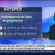 Artsper démocratise la vente d'oeuvres d'art contemporain, François-Xavier Trancart, dans GMB