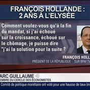 Frédéric Dabi et Marc Guillaume, dans Le Grand Journal – 4/7