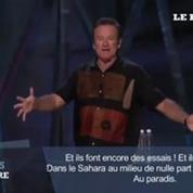 Quand Robin Williams plaisantait sur les Français
