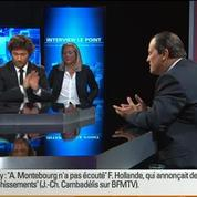 BFM Politique: L'interview de Jean-Christophe Cambadélis par Christophe Ono-dit-Biot du Point 3/6