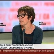 Dominique Bockelée-Morvan, directrice de recherche du CNRS à l'Observatoire de Paris, dans Le Grand Journal – 1/7