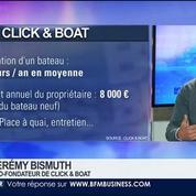 Click & Boat, une plateforme de location de bateaux entre particuliers, Jérémy Bismuth, dans GMB –