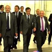 Fillon, Juppé et Raffarin pressent Hollande d'intervenir au Proche Orient