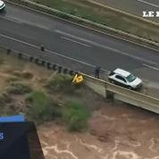 Inondations impressionnantes dans l'Arizona