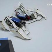 Des robots origamis qui avancent comme des insectes