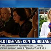 BFM Story: Cécile Duflot électrise François Hollande