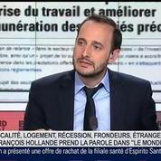 Caroline Michel et Benjamin Masse-Stamberger, dans Le Grand Journal 6/7