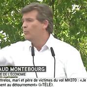 Pour relancer l'économie, Montebourg préconise
