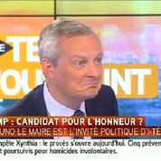 Bruno Le Maire est «sans voix» après une question de Bruce Toussaint