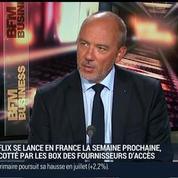 Stéphane Richard, président directeur général d'Orange, dans Le Grand Journal 2/3