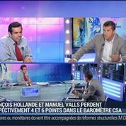 Bilan des derniers sondages sur François Hollande, Gaël Sliman, dans GMB –