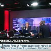 RMC Politique : François Hollande subit trop de critiques et de déferlement de haine –