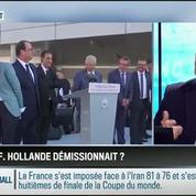 Le parti pris d'Hervé Gattegno : François Hollande devrait réfléchir à sa démission