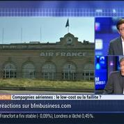 Compagnies aériennes: le low-cost ou la faillite ?, dans Les Décodeurs de l'éco 3/4