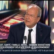 Marc Ladreit de Lacharrière et Raphaël Gorgé, dans Le Grand Journal 2/3
