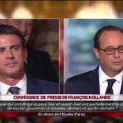 Hollande : une rivalité avec Manuel Valls n'est
