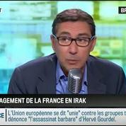 RMC Politique : Devrait-on remettre en cause l'engagement de la France en Irak? –