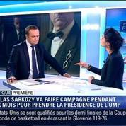 Politique Première: Nicolas Sarkozy, candidat à la présidence de l'UMP