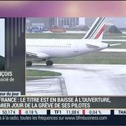 Baisse du titre d'Air France en Bourse: Thibault François, dans Intégrale Placements –