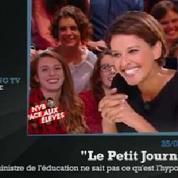 Zapping TV : Najat Vallaud-Belkacem est nulle en maths