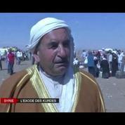 Des milliers de kurdes fuient les exactions en Syrie