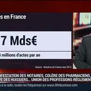 Jean Tarrade, président du Conseil supérieur du notariat, dans Le Grand Journal 3/3