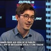Comment redonner envie aux gens de se parler ?: Cord lance son WhatsApp de la voix: Thomas Gayno, dans Le Grand Journal de New York 2/4