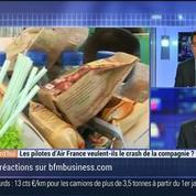 Les pilotes d'Air France veulent-ils le crash de la compagnie ?, dans Les Décodeurs de l'éco 1/4