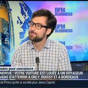 3 minutes pour convaincre 2014: Tripndrive, l'autopartage pour les voyageurs: François-Xavier Leduc, dans GMB –