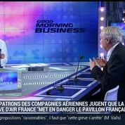 La grève des pilotes d'Air France met en danger le pavillon français, Marc Rochet, dans GMB –