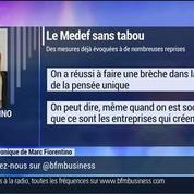 Marc Fiorentino : le Medef propose des mesures chocs pour relancer l'emploi