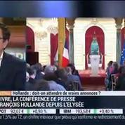François Hollande: doit-on attendre de vraies annonces ?, dans les Décodeurs de l'éco