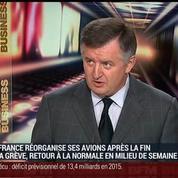 Augustin de Romanet, président directeur général d'Aéroports de Paris, dans Le Grand Journal 1/3