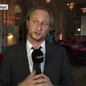 Benoît Poelvoorde au JT: «Excusez-moi parce que j'ai déjà bu un petit verre»