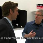 Tim Cook aussi appelle l'Apple Watch